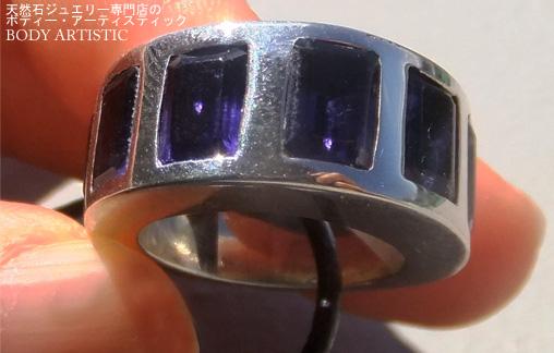 ローラン・レジェ 10.5号アイオライトリング