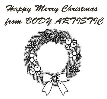 BODY ARTISTICクリスマスリース